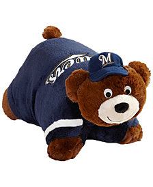 Fabrique Innovations Milwaukee Brewers Team Pillow Pet