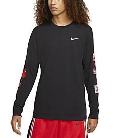 Men's Graphic-Print Long-Sleeve T-Shirt