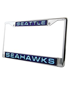 Seattle Seahawks Laser License Plate Frame