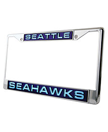 Rico Industries Seattle Seahawks Laser License Plate Frame