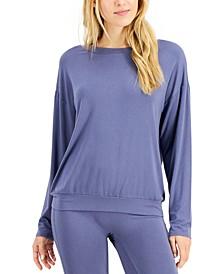Super Soft Modal Long-Sleeve Sleep Top, Created for Macy's