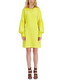 Cutout-Waist Sweatshirt Dress, Created for Macy's