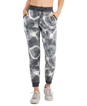Radial Marks Slim Fit Jogging Pants