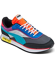 Men's Future Rider Galaxy Casual Sneakers from Finish Line