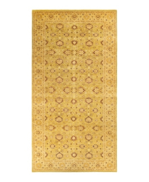 """Adorn Hand Woven Rugs Mogul M1207 8'2"""" X 16'6"""" Area Rug In Lime"""