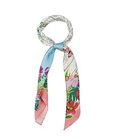Women's Overgrown City Square Scarf