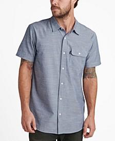 Men's Short Sleeved Woven Shirt