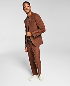 Men's Slim-Fit Solid Suit Separates, Created for Macy's