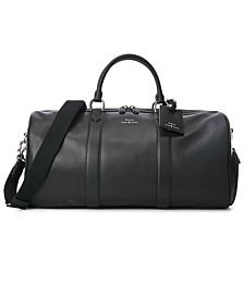 Men's Smooth Leather Duffel