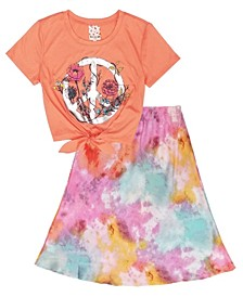 Big Girls 2 Piece Skirt Set