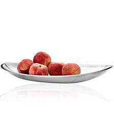 "Nambe Braid 18"" Oval Platter"
