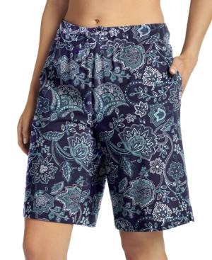 Everyday Essentials Cotton Bermuda Pajama Shorts