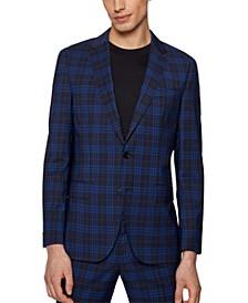 BOSS Men's Slim-Fit Virgin Wool Suit