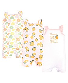 Boys and Girls Rompers, 3 Piece Set