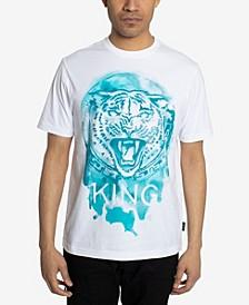 Men's Watercolor Tiger T-shirts