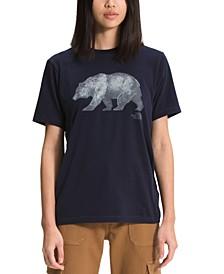 Women's Bear-Graphic T-Shirt