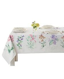 "Butterfly Meadow Garden Tablecloth, 60"" x 102"""
