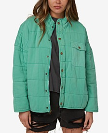 Mable Knit Quilted Women's Jacket