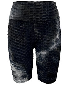 Textured Bike Shorts, Created for Macy's