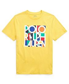 Big Boys Logo Cotton Jersey T-shirt