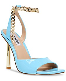 Women's Buoyant Two-Piece Chained Dress Sandals