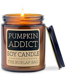 Pumpkin Addict Candle, 9-oz.