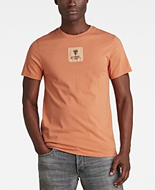 Men's Center Logo Badge R T-shirt