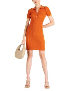 Polo Contrast Trim Dress