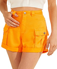 Iris Cuffed Cargo Shorts