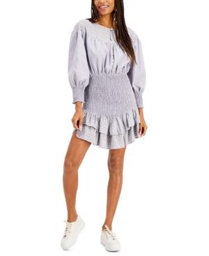 Ellery Smocked Mini Dress