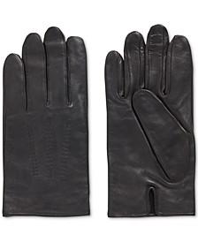 BOSS Men's Lamb-Leather Gloves