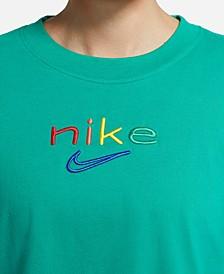 Plus Size Rainbow-Logo Dry-FIT T-Shirt
