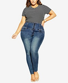 Plus Size Harley Rip Jeans
