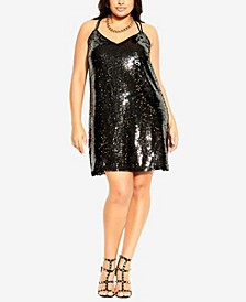 Plus Size Glimmer Dress
