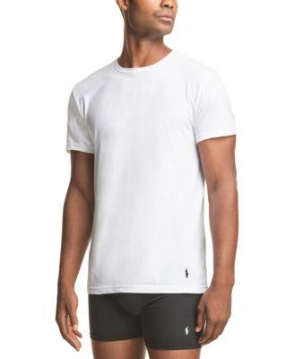 폴로 랄프로렌 Polo Ralph Lauren Mens Stretch T-Shirts, 3-Pack