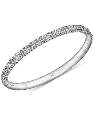 Swarovski Stainless Steel Crystal Bangle Bracelet