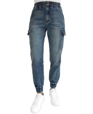 Juniors' Cargo Jogger Jeans
