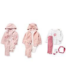 Baby Girls Bodysuits, Pants & Cardigans Separates