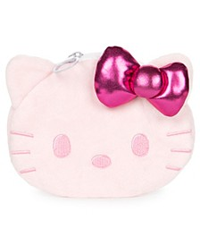 """CLOSEOUT! GUND Sanrio Hello Kitty Coin Purse Plush Pink, 4"""""""