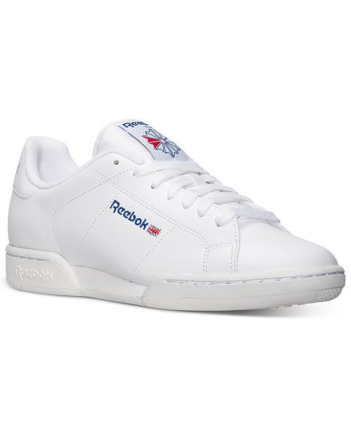 f082c4615eb2f Reebok Men s NPC II Casual Sneakers from Finish Line   Reviews ...