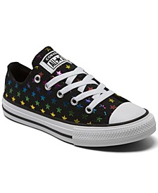 Big Girls Archive Foil Chuck Taylor All Star Casual Sneakers from Finish Line