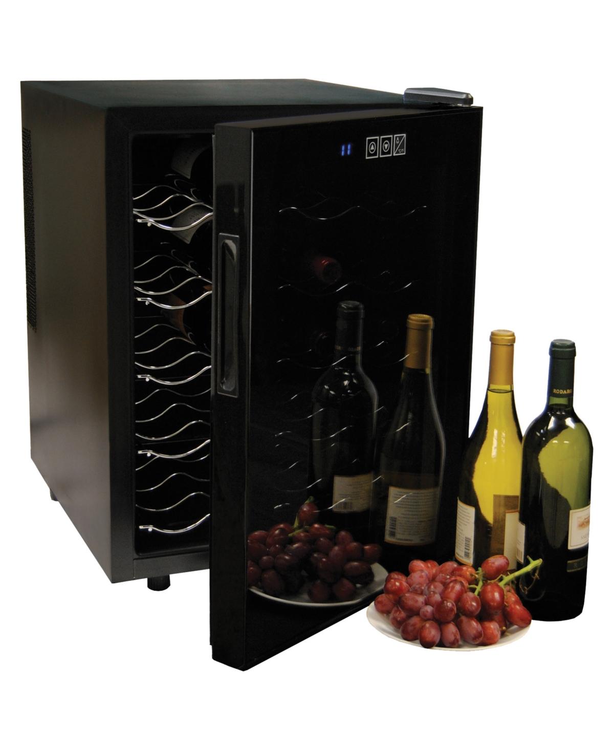 Koolatron Urban Series 20 Bottle Wine Cooler, Thermoelectric Wine Fridge, Freestanding Wine Cellar for Home Bar, Small Kitchen, Apartment, Condo, Cottage, Rv