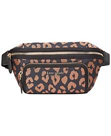 Sam The Little Better Leopard Medium Belt Bag