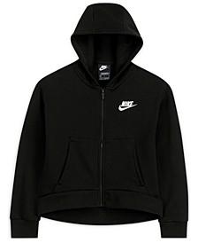 Big Girls Sportswear Club Fleece Full-Zip Hoodie