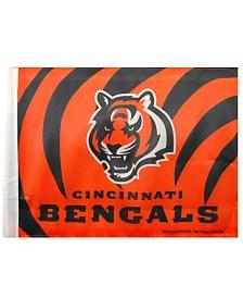 Rico Industries  Cincinnati Bengals Car Flag