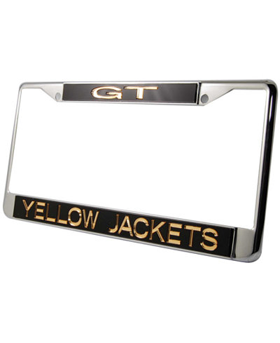 Stockdale Georgia Tech Yellow Jackets Laser License Plate Frame