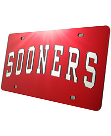 Stockdale Oklahoma Sooners License Plate