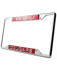 Stockdale Washington State Cougars Laser License Plate Frame