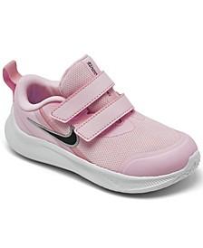 Toddler Girls Star Runner 3 Stay-Put Running Sneakers from Finish Line