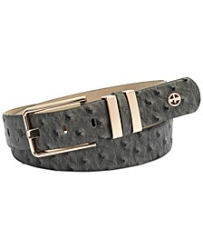 Elongated-Buckle Belt, Created for Macy's